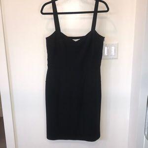 DVF women's size 14 black dress.